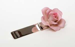 boutonniere Silver Pink top A4