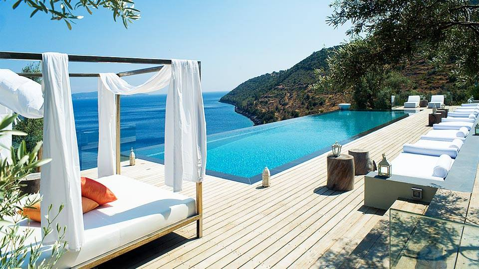 Квартира в греции на берегу моря