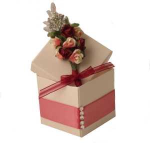 LilGuy Stationery Crystal Rose Favour Box